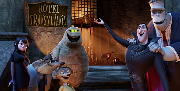 Hotel Transylvania from Sony Pictures! Adam Sandler is Dracula :[   Out in October 2012