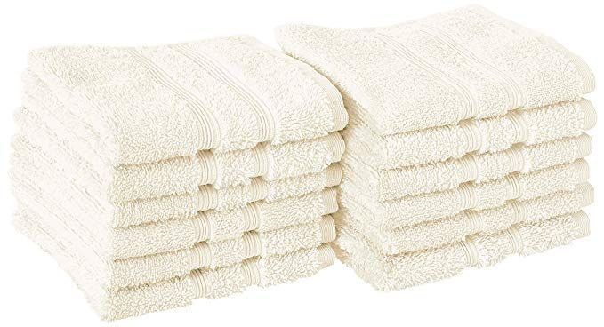 Manor Ridge Turkish Cotton 700 Gsm Wash Cloth Set Super Soft Heavy Weight Absorbent 12 Pack Ivory Review Washing Clothes Turkish Cotton Bath Towels Colors