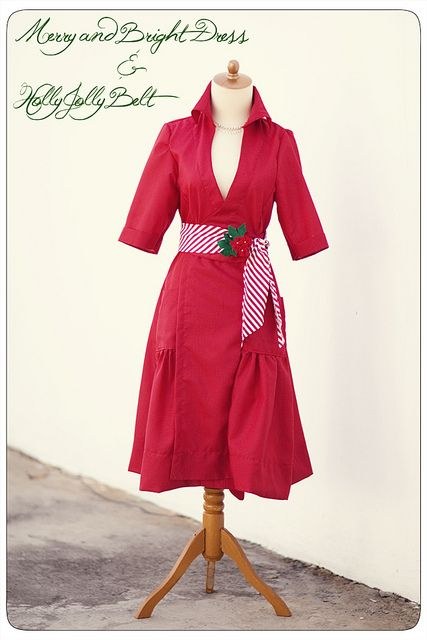 Merry and Bright Dress Tutorial. I'm not sure that I am brave enough to undertake this yet or not, but it is beautiful!