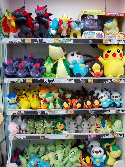 At the Pokemon store