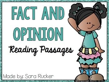 Reading Passages That Build Comprehension: Fact & Opinion by Linda ...
