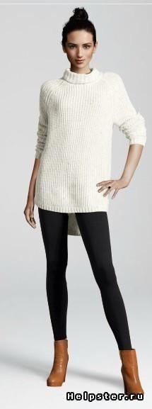 Удлинённый свитер купить