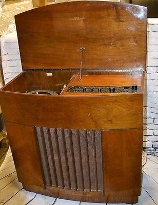 SANSUI-HiFi-Stereo-System-Radiogram-w-Garrad-SP25-in-60-039-s-DECCA-Cabinet-PL2243