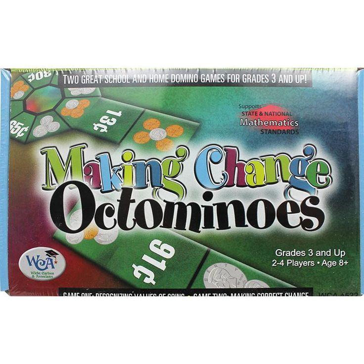 Making Change Octominoes Game