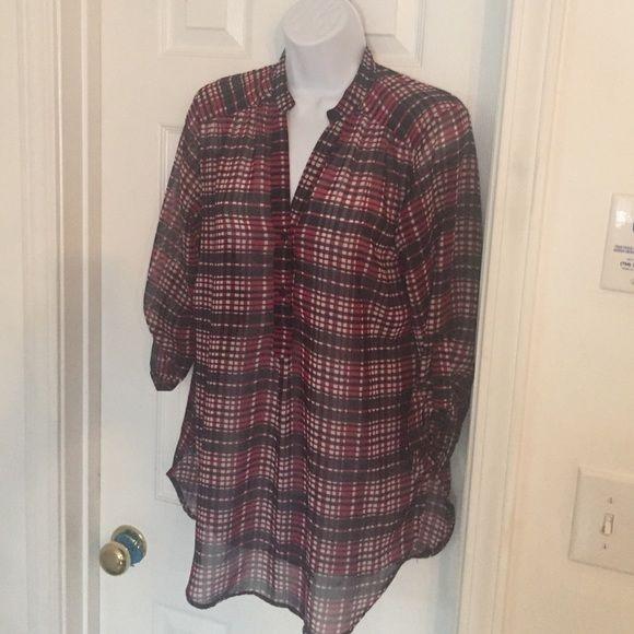 A sexy shear shirt A sexy shear shirt Tops Button Down Shirts