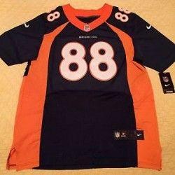#Denver CO Merchandise / #DemaryiusThomas #Jersey 88 Denver #Brocos Men Size 44 L - Geebo