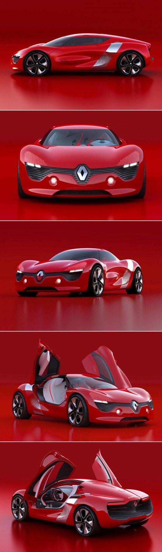 Renault DeZir ~ an electric powered concept car #ConceptCars