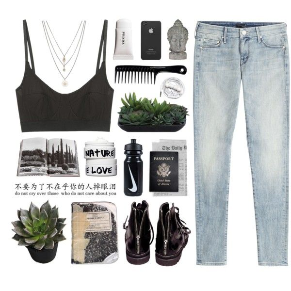 my heart is a ghost town by sierrasaphira on Polyvore featuring polyvore fashion style Mother Base Range Orelia Nature Girl Lux-Art Silks Urbanears Assouline Publishing NIKE Incase Helmut Lang Plane Passport