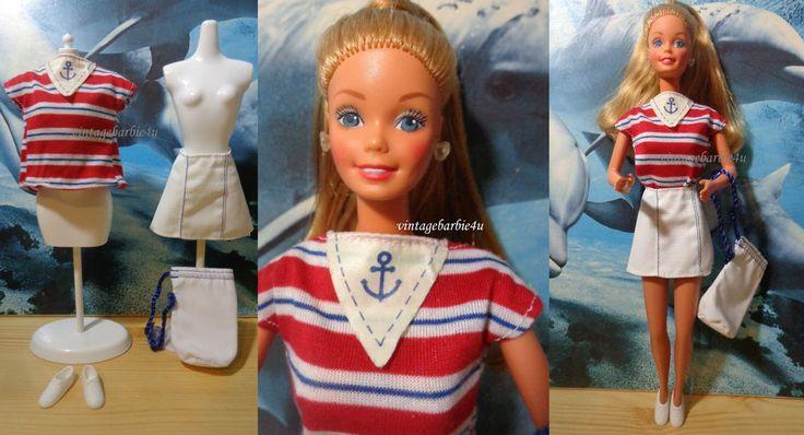 Vintage 1984 Sea Lovin  Yachting Regate Maritim Mare Barbie Doll (European) RARE