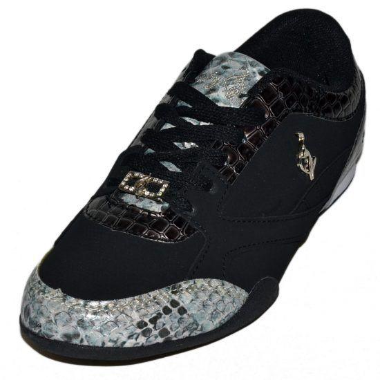 Baby Phat Alexa Womens Black Shoes