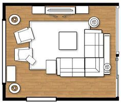 Living Room Layout For My New Home