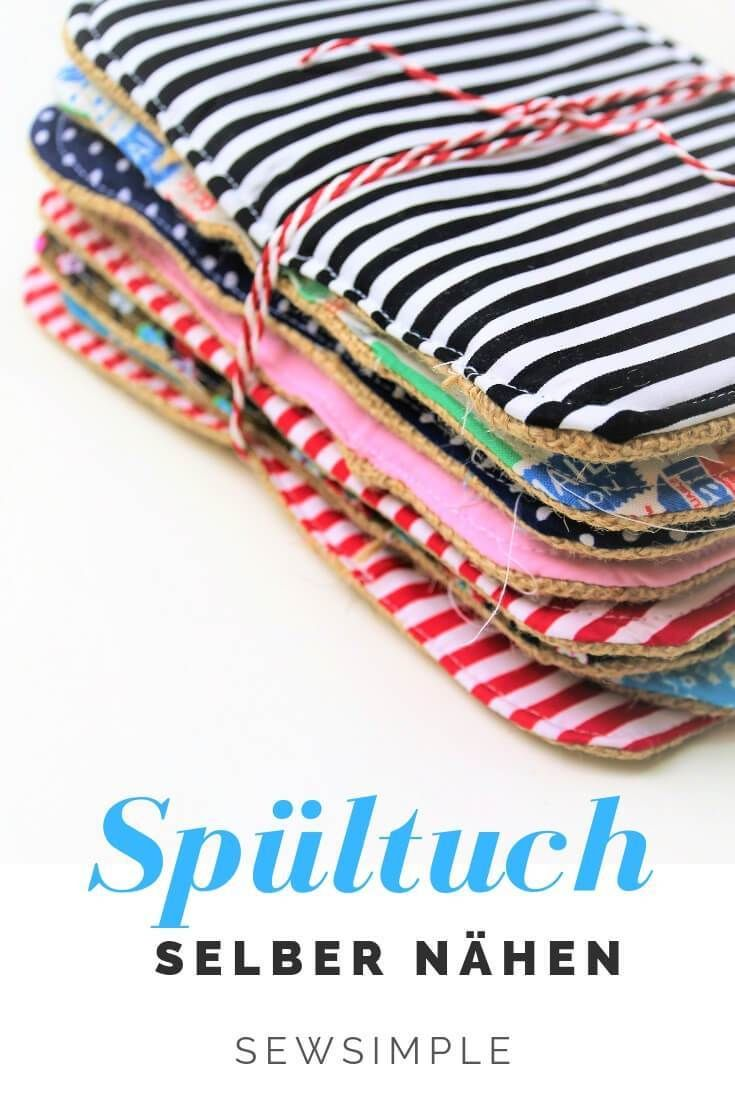 ᐅ make dishcloth yourself with sewing instructions