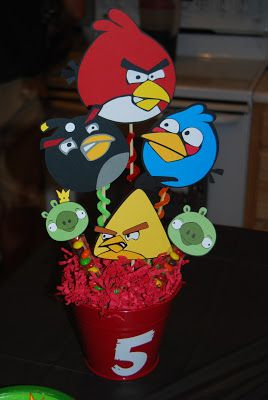 Angry Birds Party idea