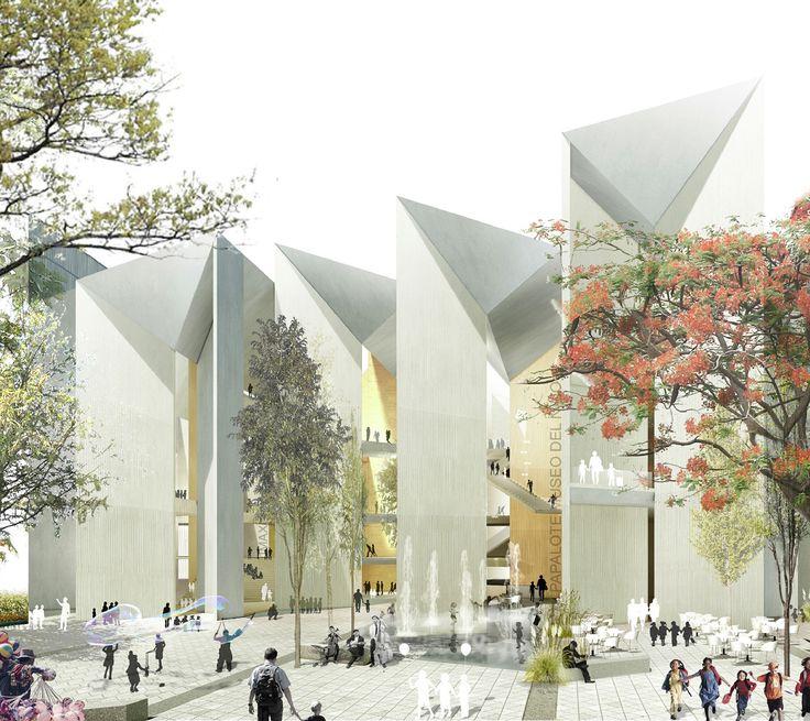 México: Propuesta ganadora para Papalote Museo del Niño Iztapalapa, por MX_SI  + SPRB Arquitectos