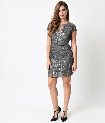 Try not to look straight at it, darling. A dab of deco meets contemporary charm in this fresh flapper take! Modeled afte...Price - $78.00-85gNhU7T