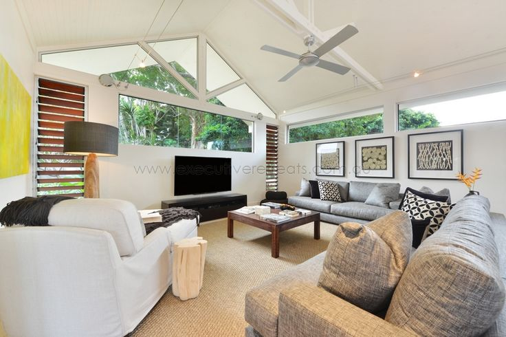 Indulge...in the 'Art of Tropical Living' with Executive Retreats stunning selection of holiday homes in Tropical North Queensland, Australia www.executiveretreats.com.au