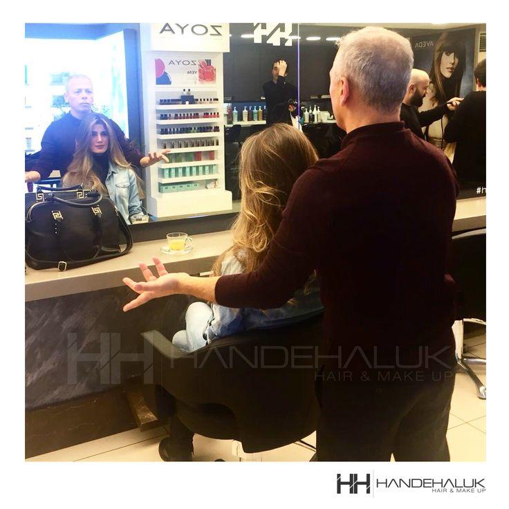 Geçen haftadan harika bir #tbt! @gizemkayali #HandeHaluk #ulus #zorlu #zorluavm  #zorlucenter #hairstyle #hairoftheday #hairfashion #hairlife #hairideas #hairstylists #inspiration #avedahairstylist #Avedasalon