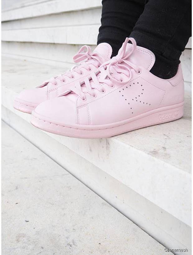 Pink Stan Smith by Raff Simons