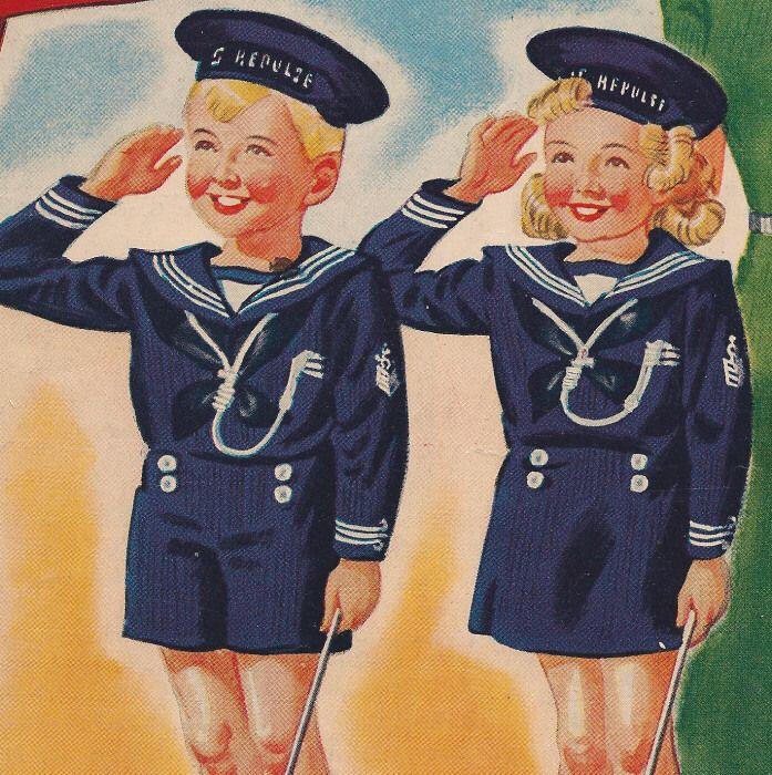 sailor childrenSailors Children, Knits Sailors, Knitting Patterns, Vintage Wardrobe, Knits Pattern, Sailors Suits, Sailors Girls, Pattern Boys, Boys Girls