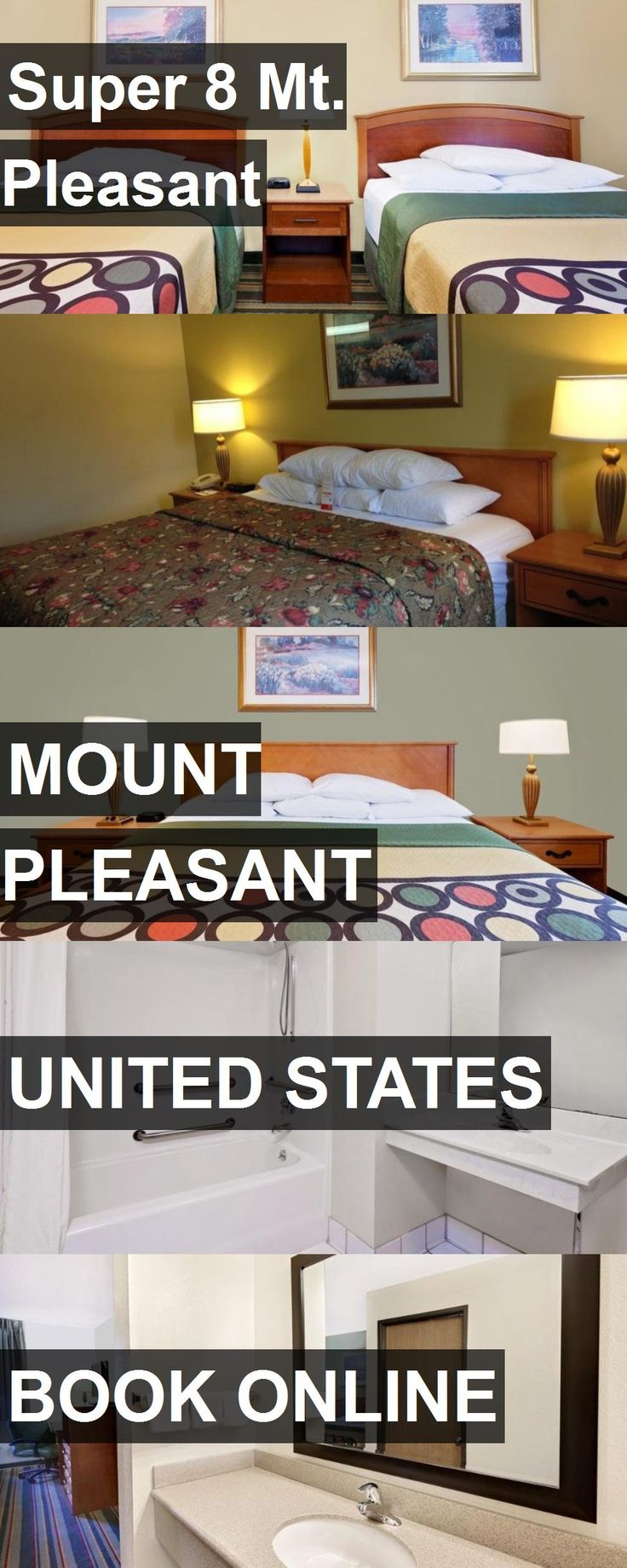 Hotel Super 8 Mt. Pleasant in Mount Pleasant, United States. For more information, photos, reviews and best prices please follow the link. #UnitedStates #MountPleasant #Super8Mt.Pleasant #hotel #travel #vacation