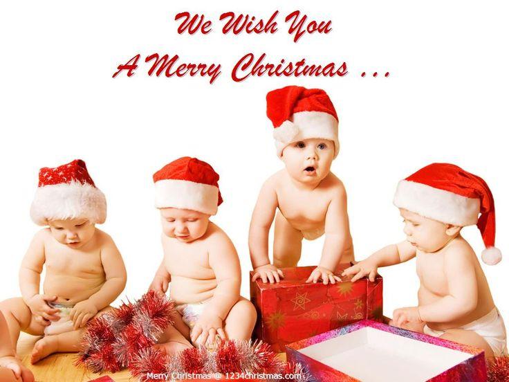 Mejores 8 imágenes de Christmas Baby Wallpapers en Pinterest   Bebé ...