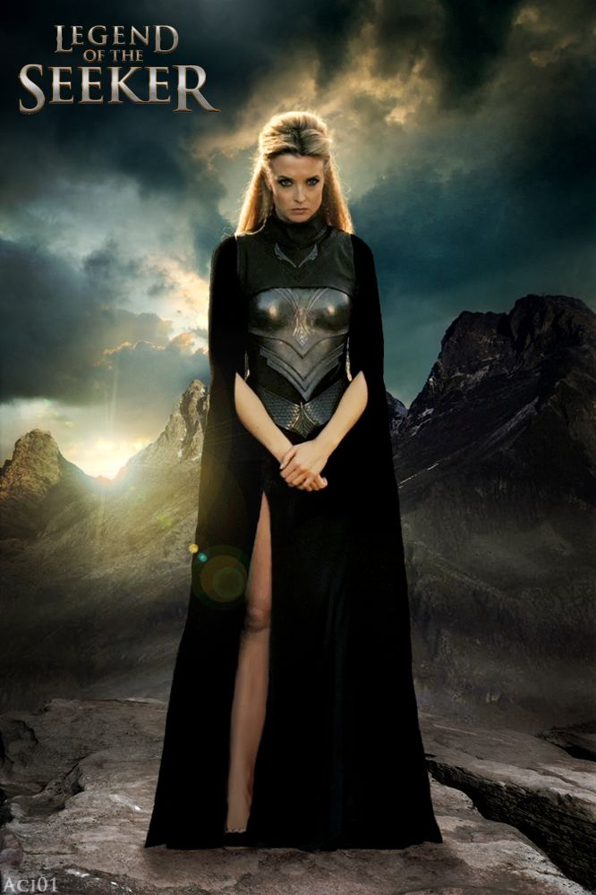 Nicci: Sister of the Light turned Sister of the Darkness... turned Ally. That last bit is not in the tv show... She actually becomes a friend and powerful Ally to Richard and Kahlan. Yet another powerful female character!