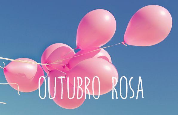 Outubro Rosa! A campanha continua, vamos lutar por essa causa! #outubrorosa                                                                                                                                                                                 Mais