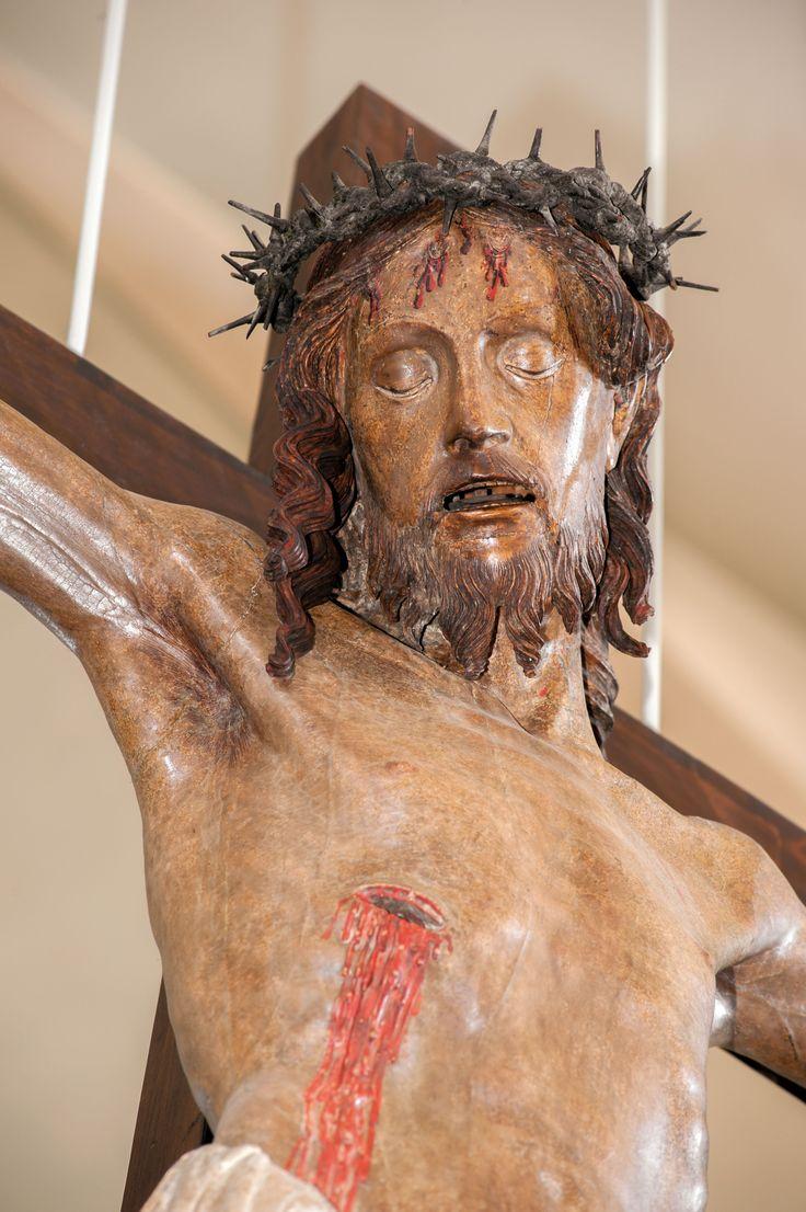 Crocefisso ligneo sec XVI Norcia, chiesa di Santa Maria Argentea