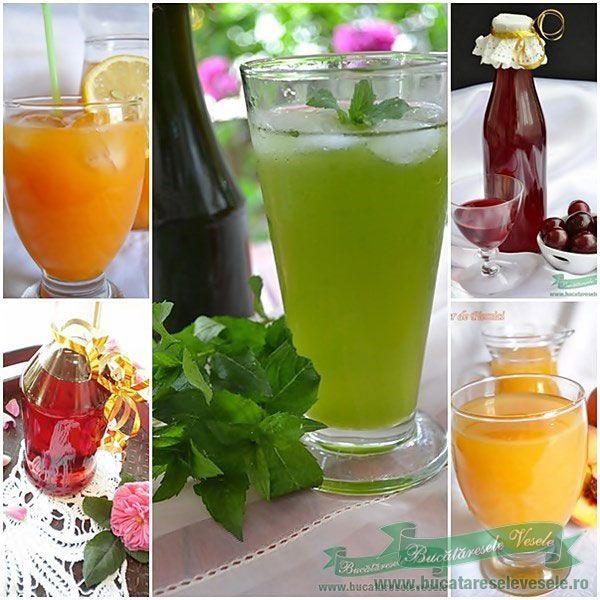 Retete sirop si nectar. Retete siropuri de fructe.Reteta nectar de piersici,capsuni,caise.Retete nectar si sirop pregatite in casa.