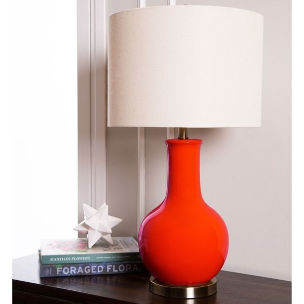 Overstock Com Online Shopping Bedding Furniture Electronics Jewelry Clothing More Red Table Lamp Ceramic Table Lamps Lamp #red #lamps #for #living #room