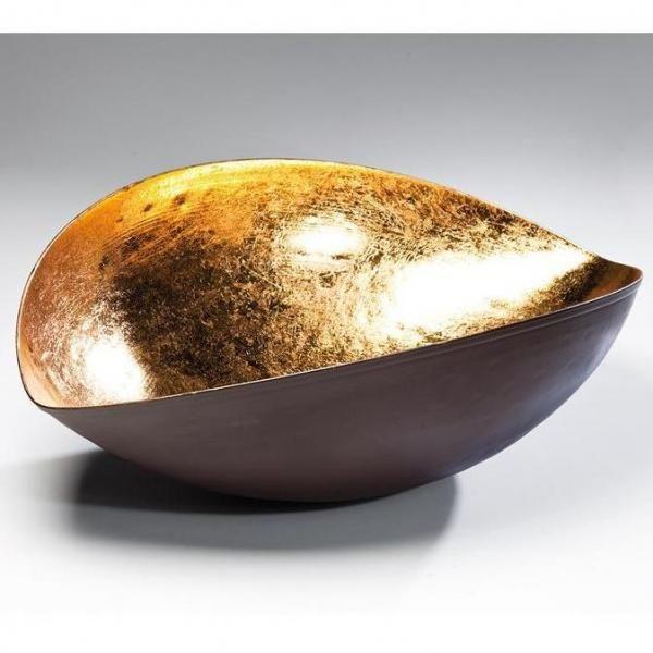 Mísa Goldfinger Leaf - 39 cm