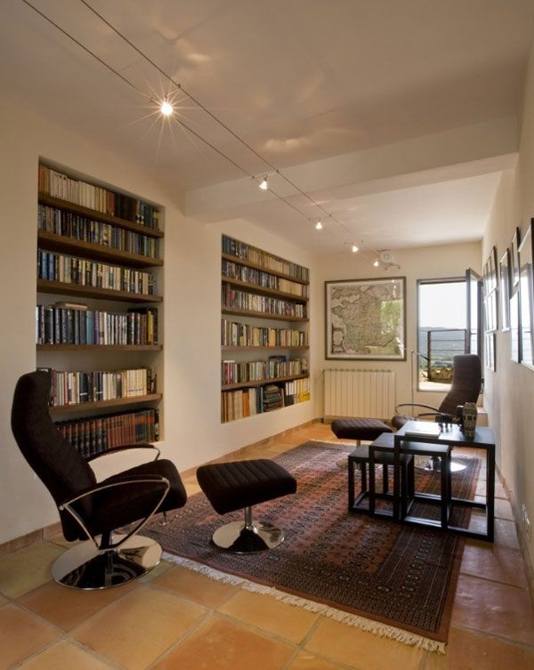 13 best Home Libraries I Like images on Pinterest | Home library ...