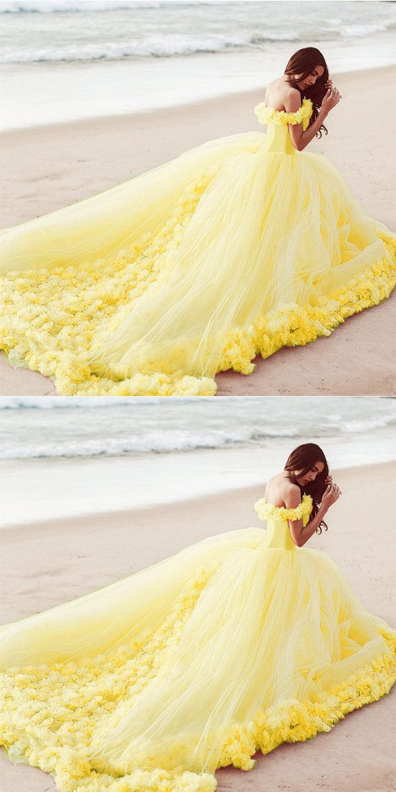 c8368abb24a0 we all fall in love with yellow quinceanera dress! this tulle with flowers  ballgowns makes your quinceanera dream comes true,just like the princess  belle! ...