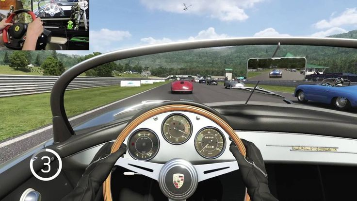 [03] XboxOne Forza 6  Porsche Expansion  Racing Wheel Gameplay  ポルシェ拡張パッ...