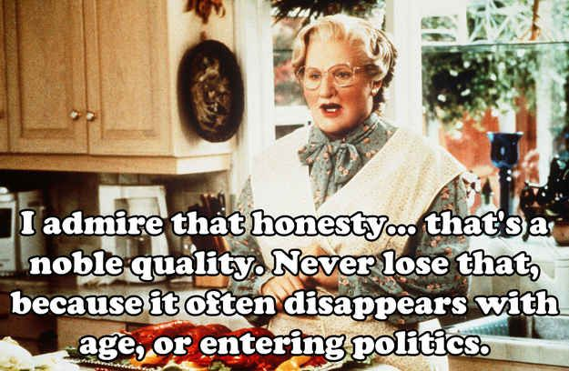 Community: 20 Euphegenia Doubtfire Quotes To Celebrate The 20th Anniversary Of 'Mrs. Doubtfire'