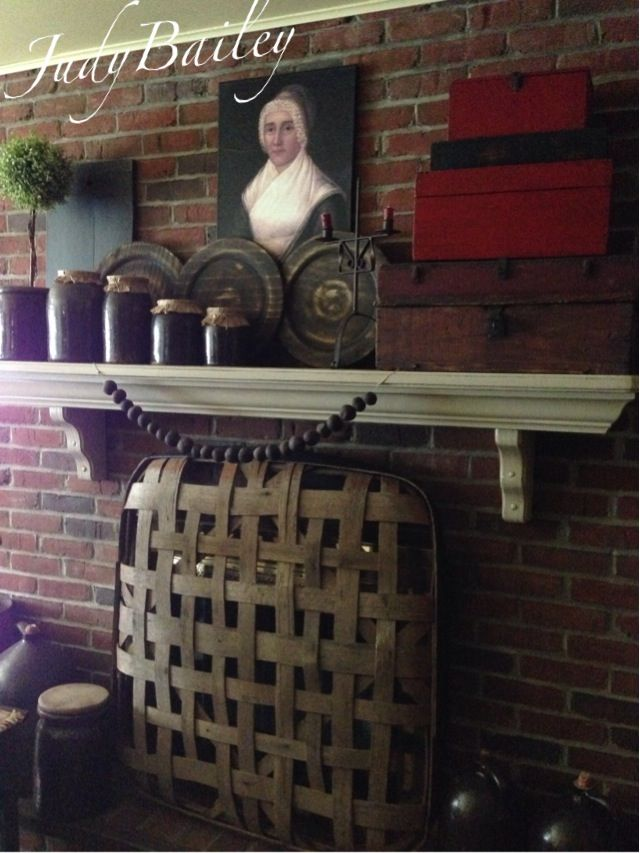 wooden fireplace screens. Nice use of tobacco basket to cover wood stove fireplace when not in 38 best images on Pinterest  Williamsburg virginia