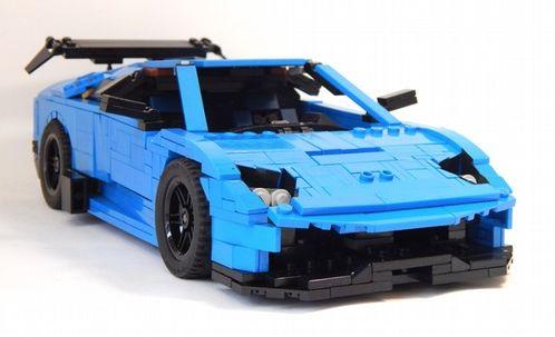 Lego Lamborghini Murcielago SV   Lego cars, Lego wheels, Lego