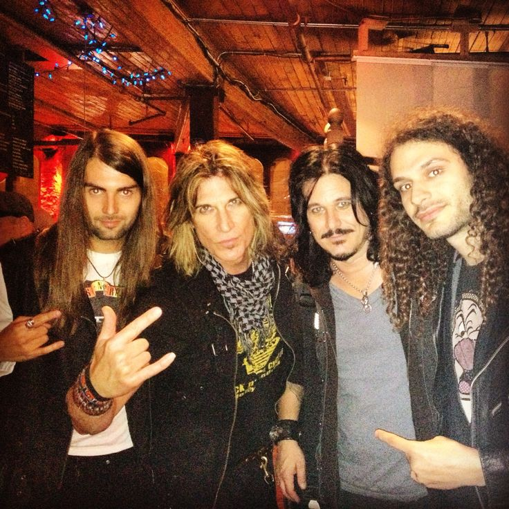 Rusted and Gilby Clarke from Guns N'Roses !