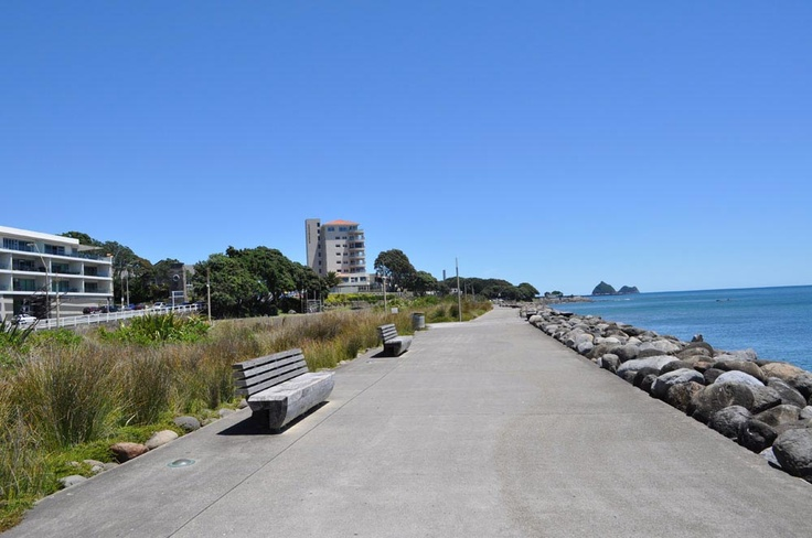 Our own local walkway/bike path in New Plymouth