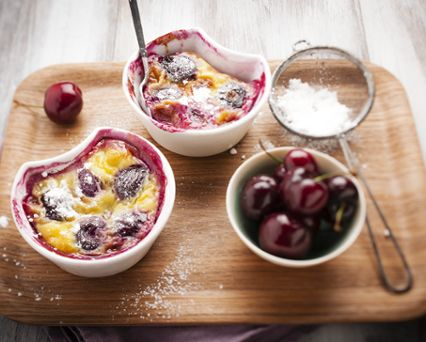 Clafoutis à la yaourtière
