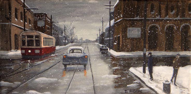 """The Winter Street"" www.daverheaume.com"
