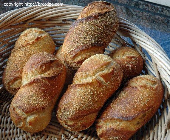 Polenta-Brötchen