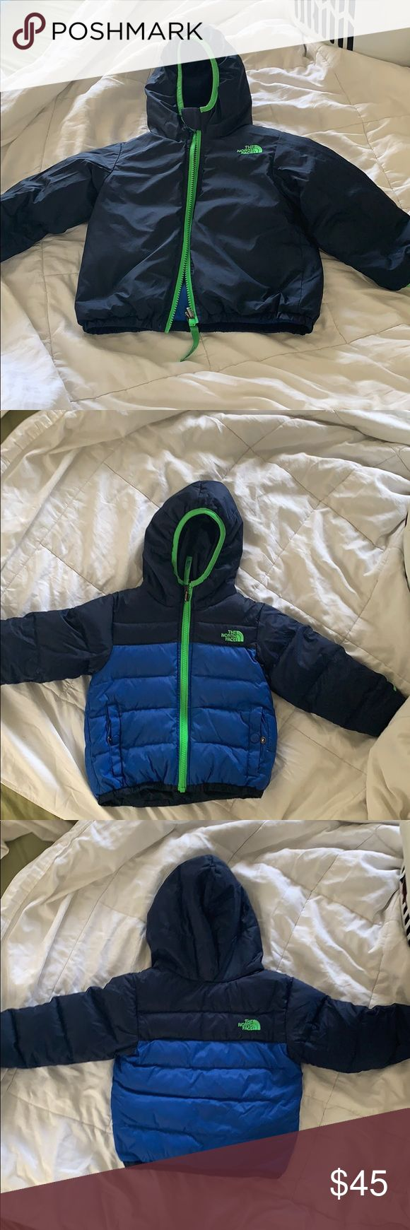 Kids Reversible The North Face Jacket 2t North Face Jacket The North Face Worn [ 1740 x 580 Pixel ]