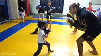 Click the link and watch how this little lady is getting it done! Now that is how you train!! You go girl!!
