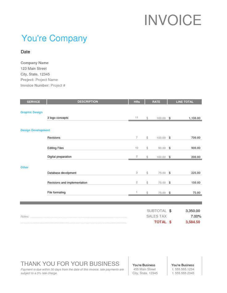 20 best Design Invoices images on Pinterest Calculus, Invoice - freelance invoice