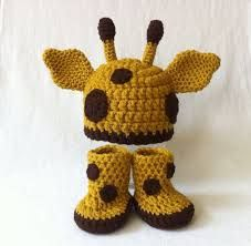 Image result for giraffe baby booties