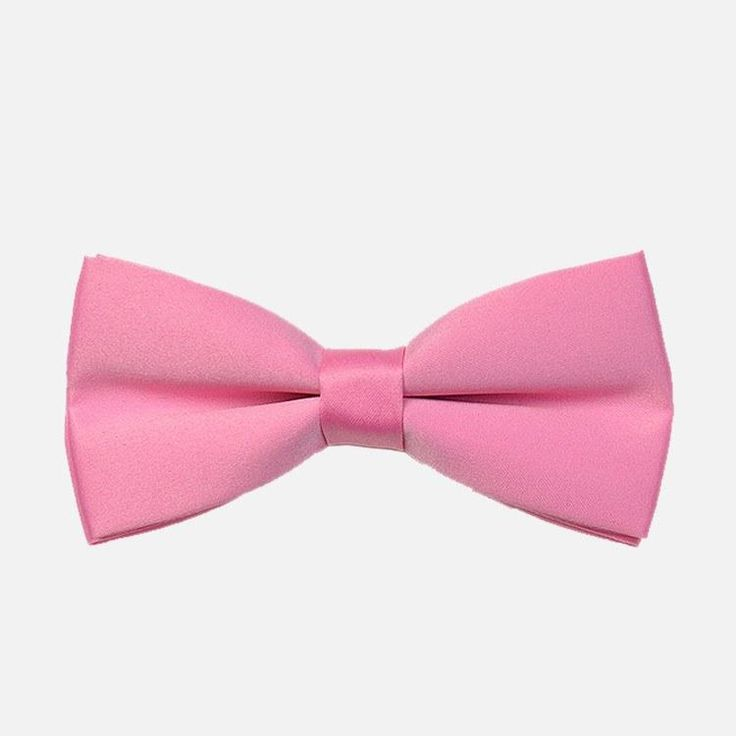 Pink Tuxedo Bow Tie: For relaxed events where you have the freedom to experiment, this pink tuxedo bowtie will let you express the side of you that enjoys colorful ensembles. bowselectie.com