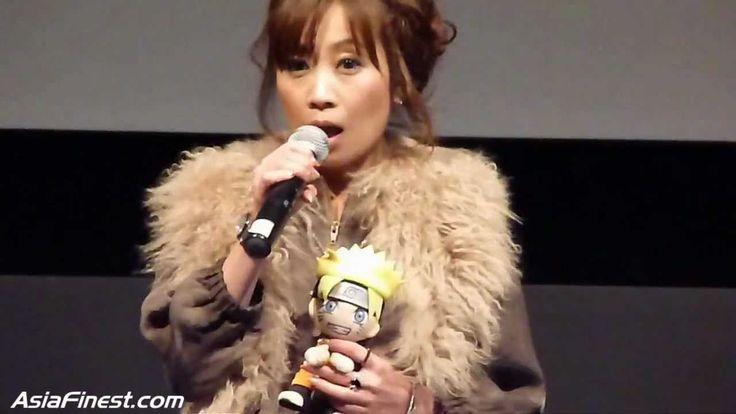 Junko Takeuchi at the US Theatrical Premiere Of Naruto Shippuden: Bonds   .... She's so fricken cute!