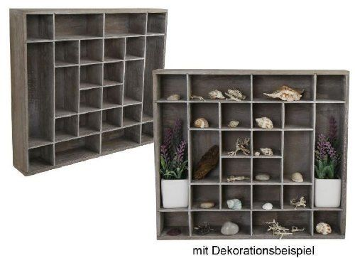 Wooden Display Case Collector Wooden Shelf Display Case Collectibles 24Compartments (Rega): Amazon.co.uk: Toys & Games