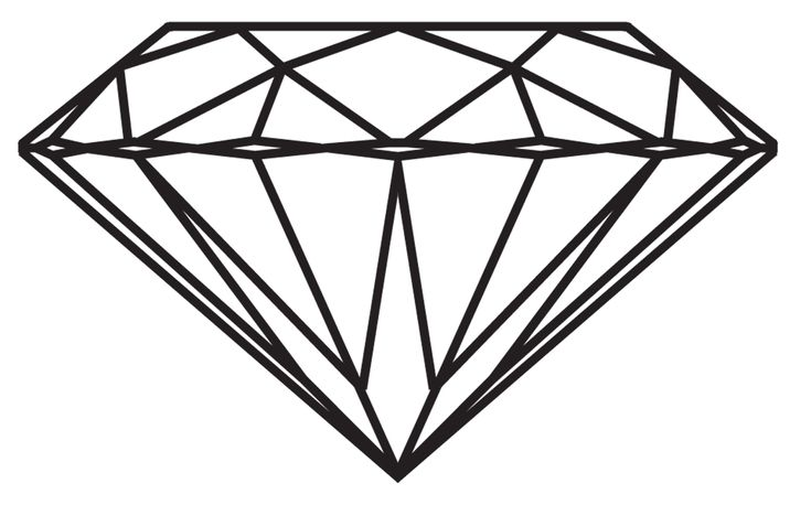 Line Drawing Diamond : Diamond drawing tumblr things to draw pinterest